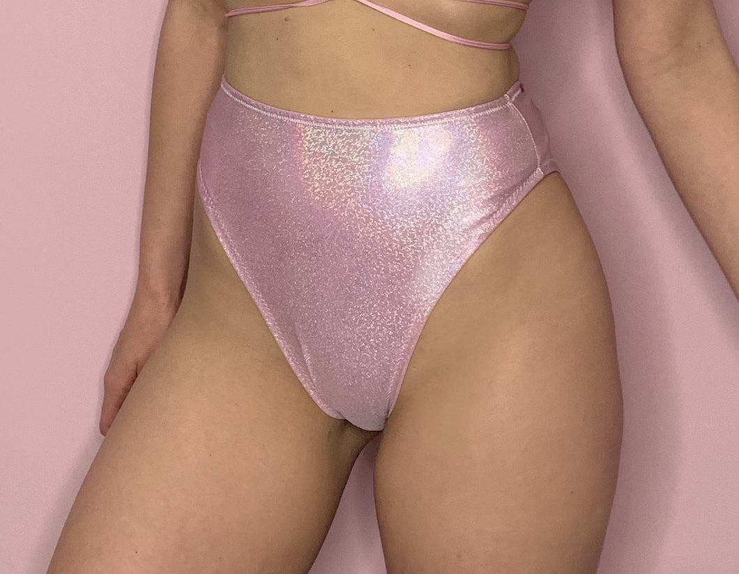 sparkly pink festival rave bottoms