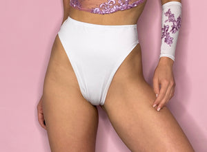 white rave bottoms outfit