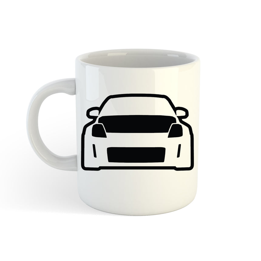 Nissan 350z Front Logo 11oz (300ml) Tea Coffee Mug Cup