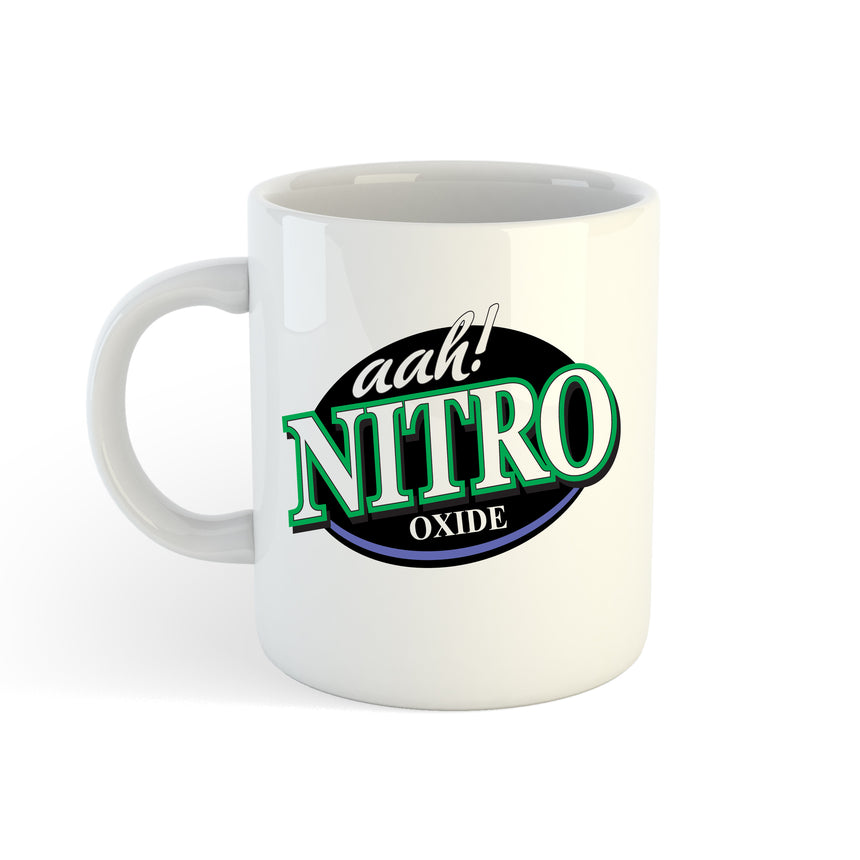 Aah! Nitro Nitrous Oxide Logo 11oz (300ml) Tea Coffee Mug Cup