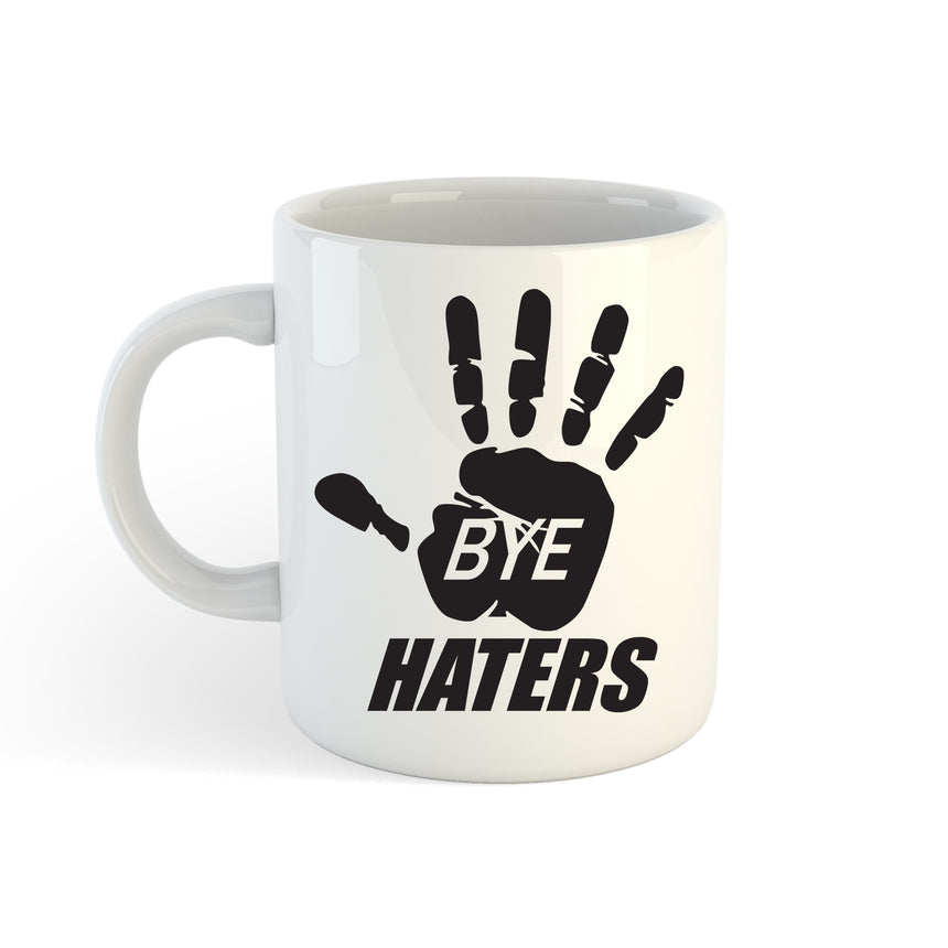 Bye Haters Logo 11oz (300ml) Tea Coffee Mug Cup