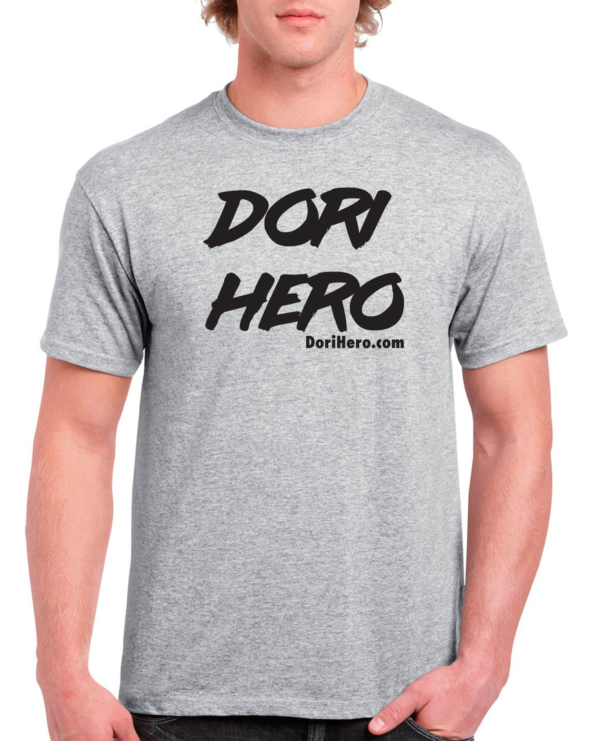 DoriHero Dots 100% Cotton Crew Neck T-shirt (51 colour choices)