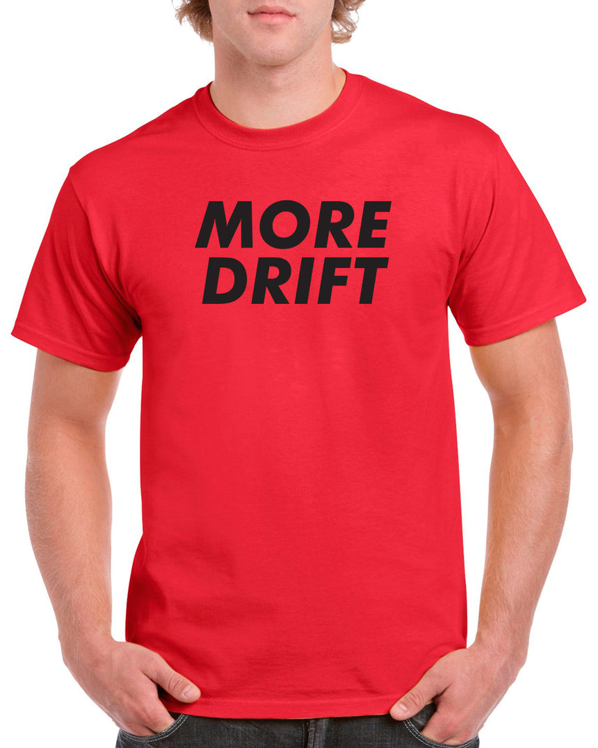 DoriHero More Drift 100% Cotton Crew Neck T-shirt (51 colour choices)