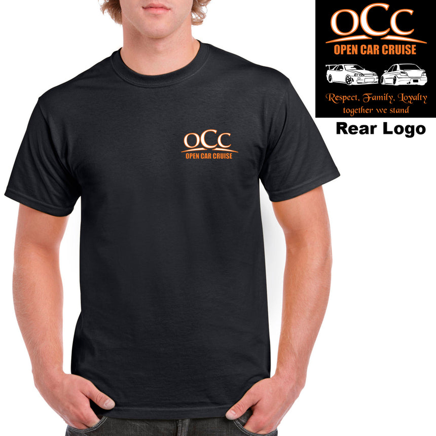 OCC - Open Car Cruise NW 100% Cotton Crew Neck T-shirt