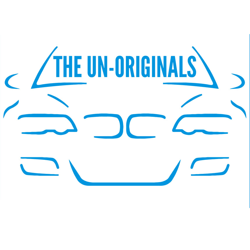 The Un-Originals Car Logo Car Sticker 17.4x10cm (Gloss)