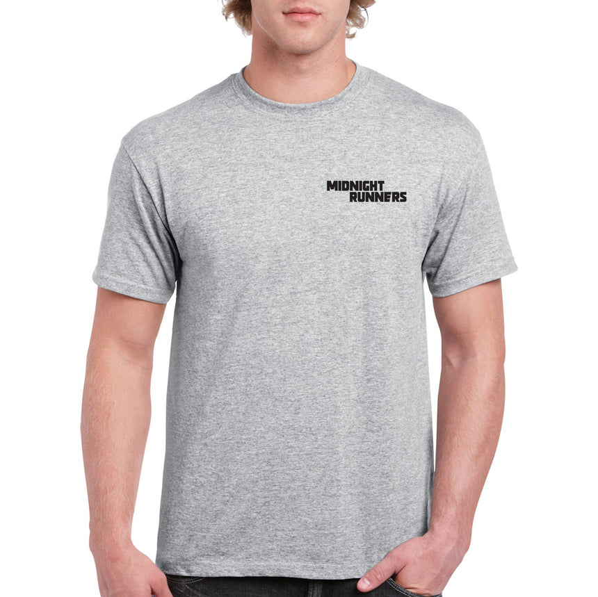 Midnight Runners Breast Logo 100% Cotton Crew Neck T-shirt (51 colour choices)