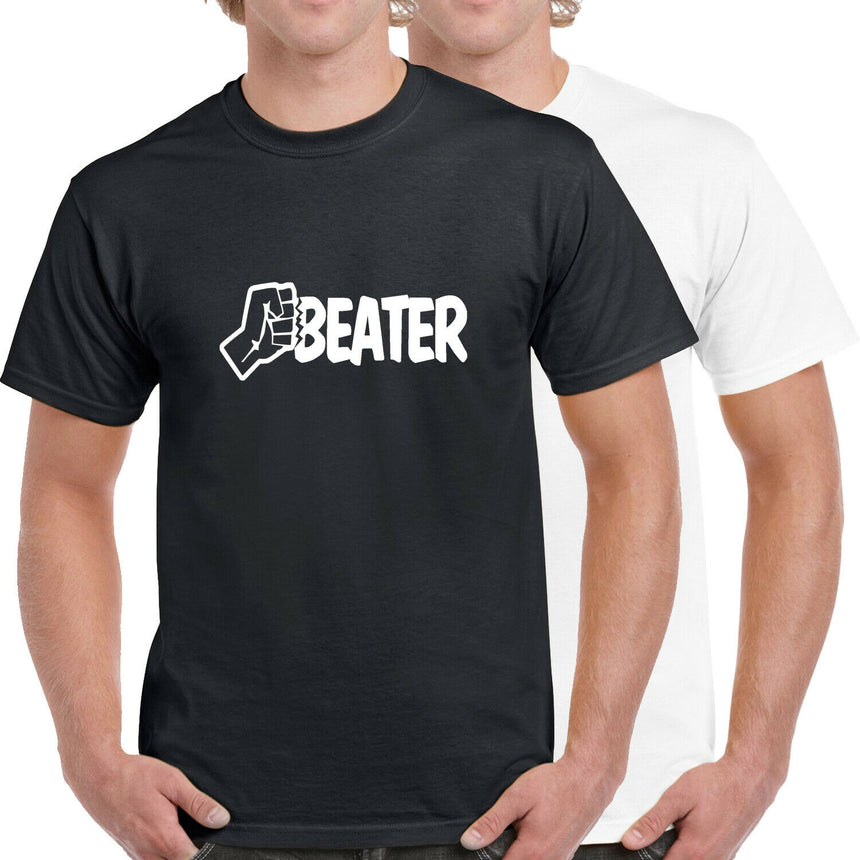 Beater Logo 100% Cotton Crew Neck T-shirt (51 colour choices)