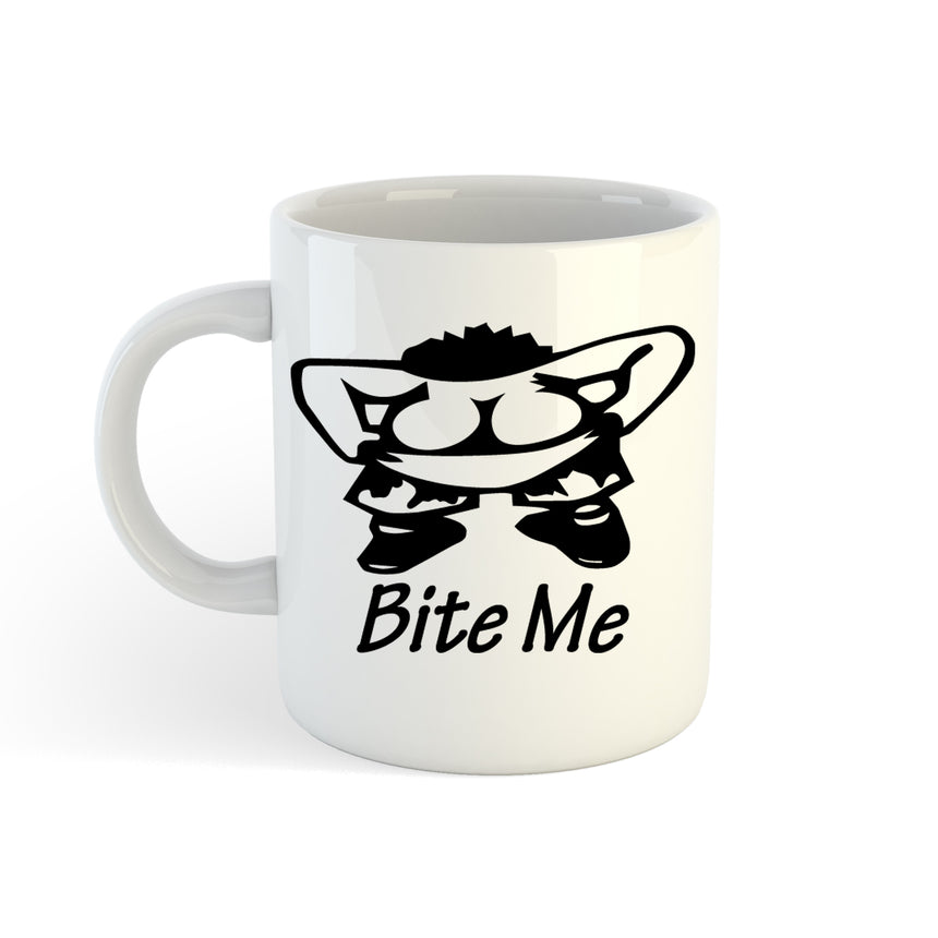 Bite Me Logo 11oz (300ml) Tea Coffee Mug Cup