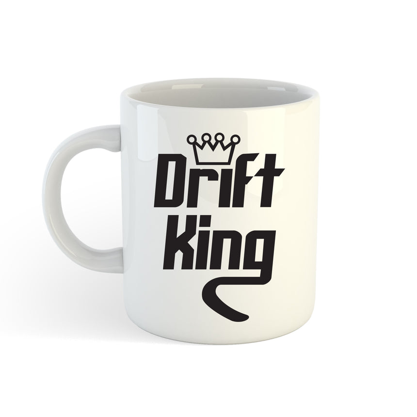 Drift King Style 3 Logo 11oz (300ml) Tea Coffee Mug Cup
