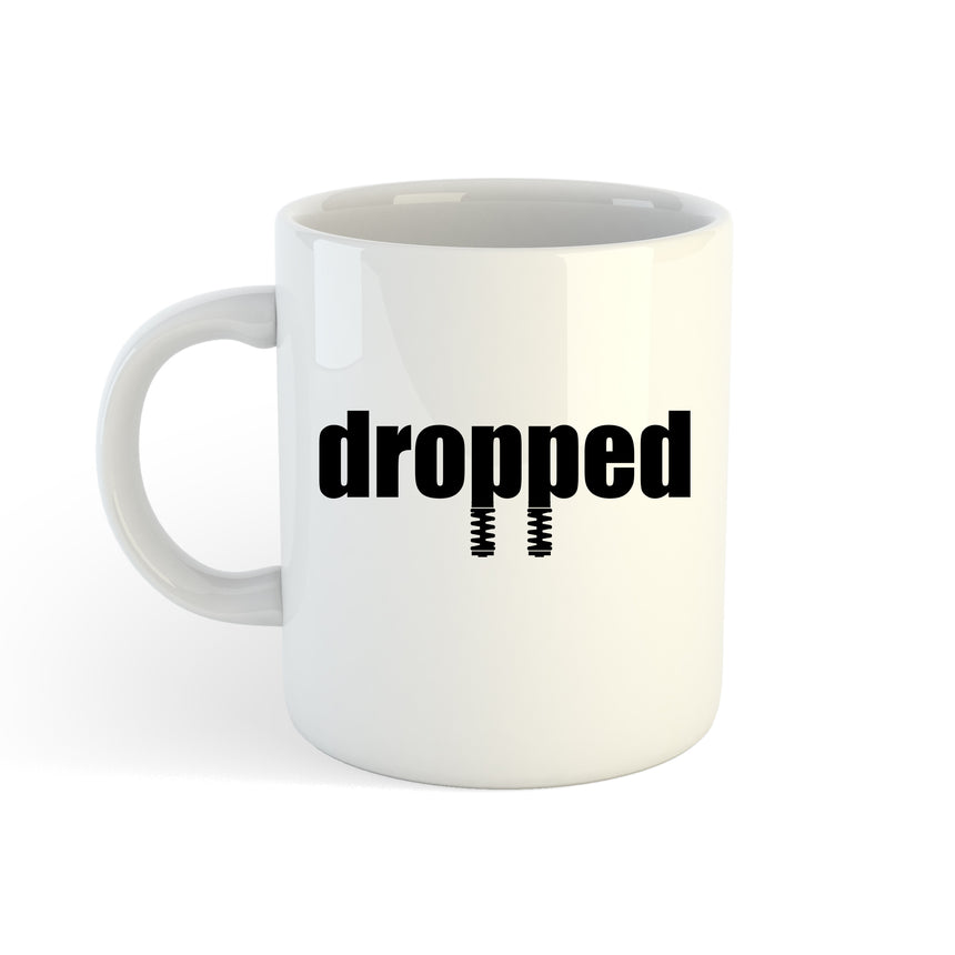 Dropped Logo 11oz (300ml) Tea Coffee Mug Cup