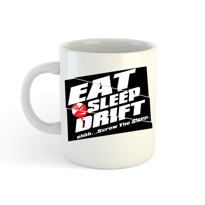 Eat Sleep Drift Style 2 Logo 11oz (300ml) Tea Coffee Mug Cup