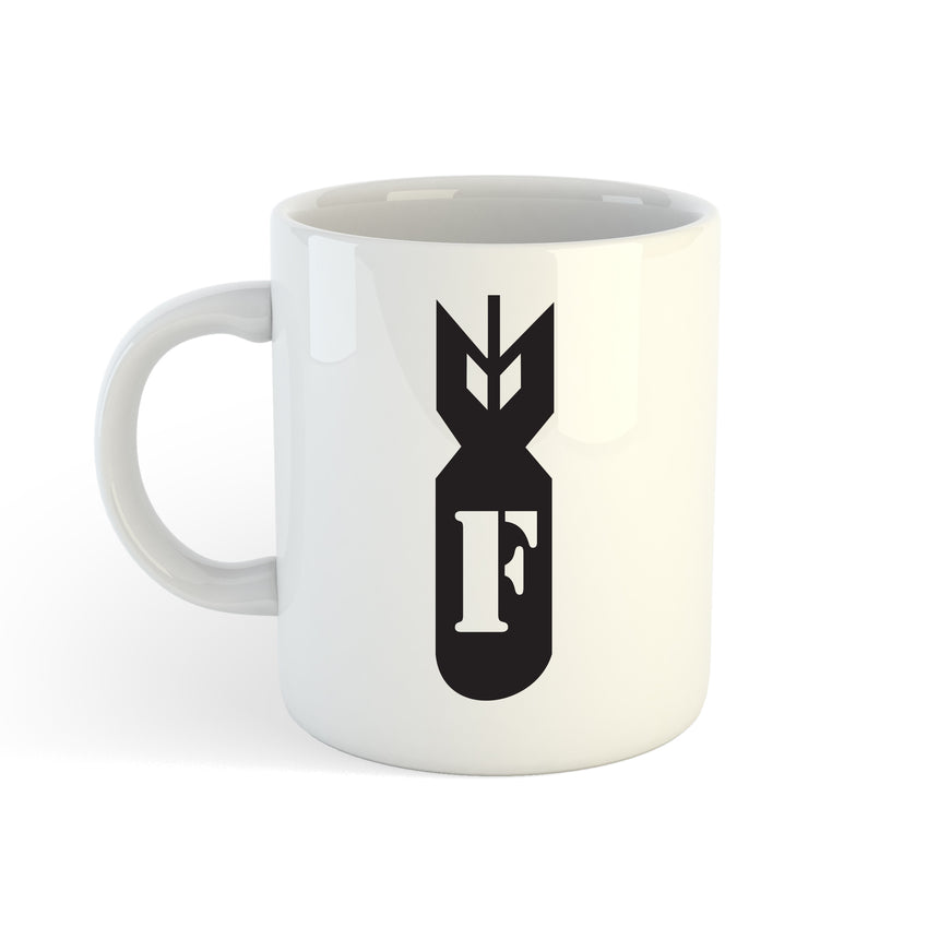 F Bomb Logo 11oz (300ml) Tea Coffee Mug Cup