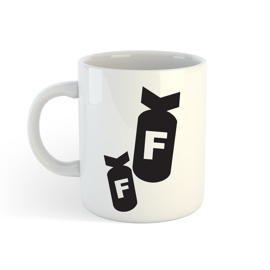 F Bombs Logo 11oz (300ml) Tea Coffee Mug Cup
