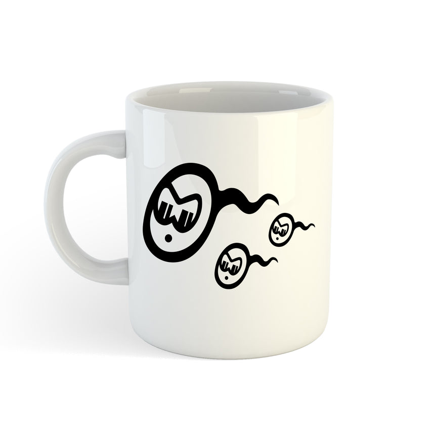 Fastest Sperm Logo 11oz (300ml) Tea Coffee Mug Cup