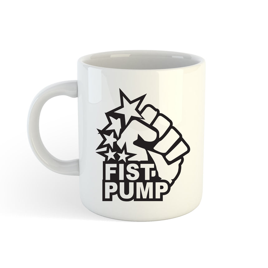 Fist Pump Logo 11oz (300ml) Tea Coffee Mug Cup