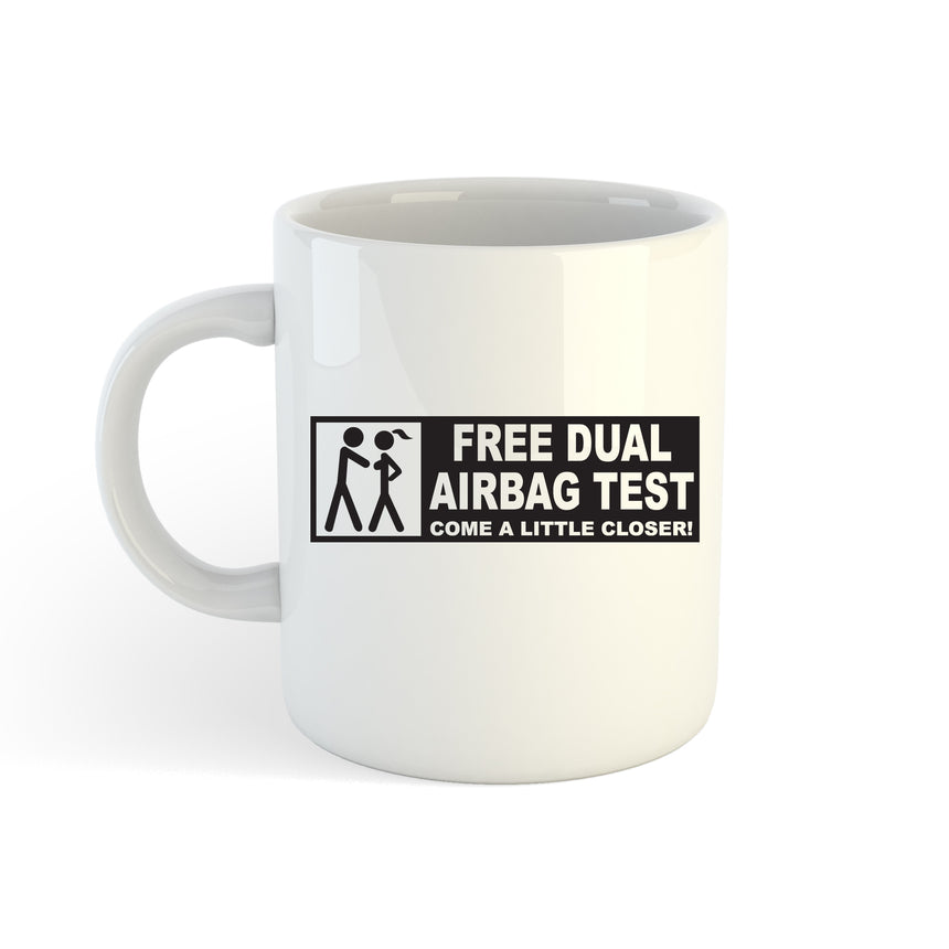 Free Dual Airbag Test Logo 11oz (300ml) Tea Coffee Mug Cup