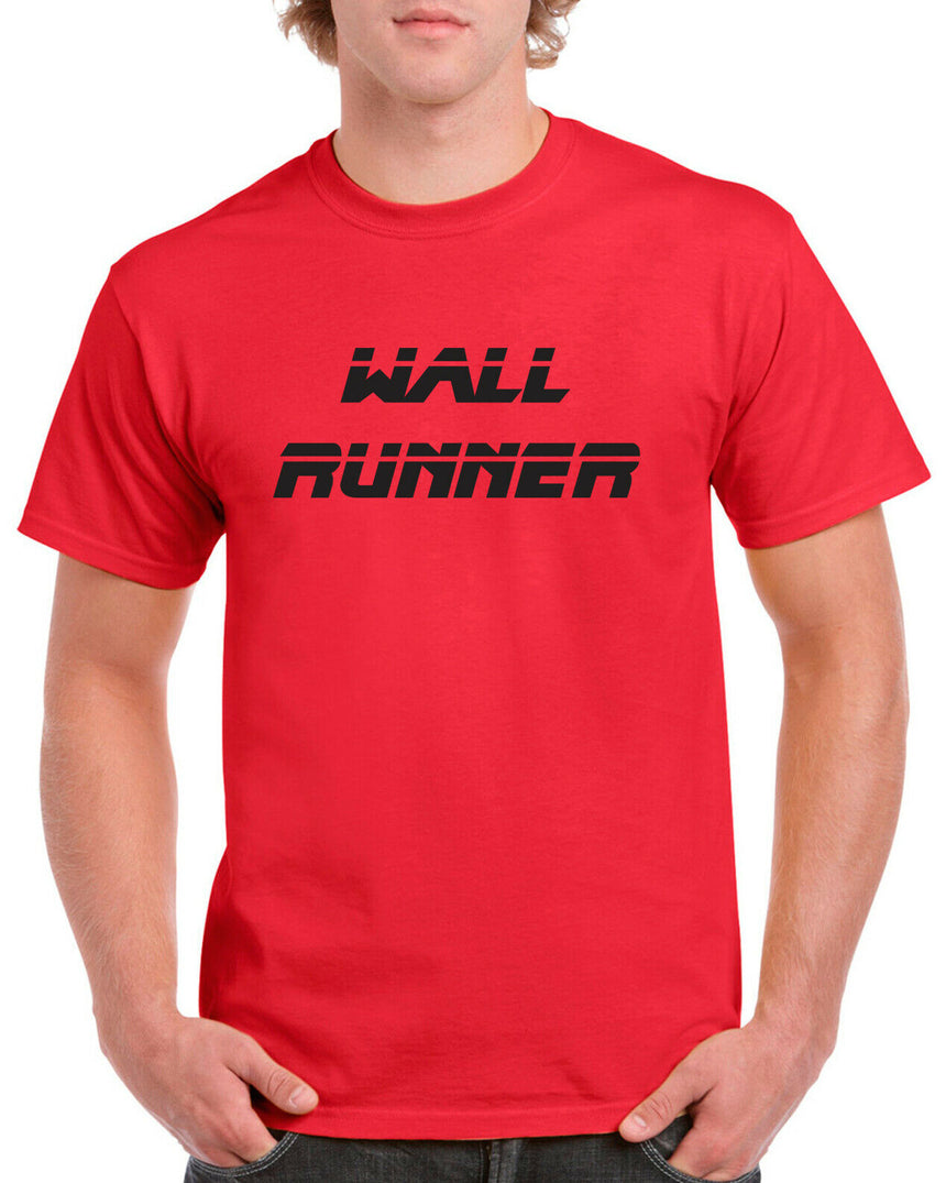 Wall Runner Buxton Drift Logo 100% Cotton Crew Neck T-shirt (51 colour choices)