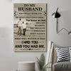 (cv403) AF Poster - To my husband I had you