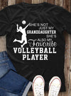 (TD7) Volleyball t-shirt - She's not just my granddaughter