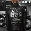 (LJ2) BIKER MAN LEATHER JACKET - NEVER GO FASTER