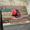 (D196) LHD Firefighter Poster - In this firefighter's home