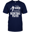 (TD10) Baseketball t-shirt - He's also favorite basketball player