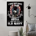 (cv892) LHD soldier poster - I may not have