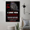 (D64) LHD Spartan Poster - Dad to Son - Your way back home