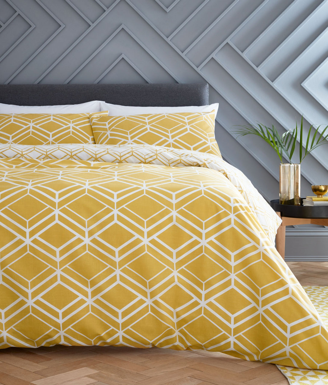 Network Geo Duvet Set