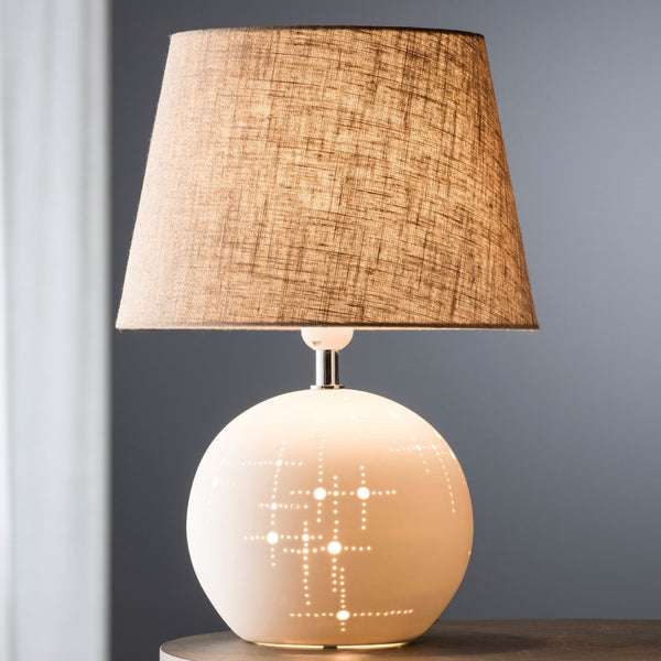 Belleek Living Orbit Lamp