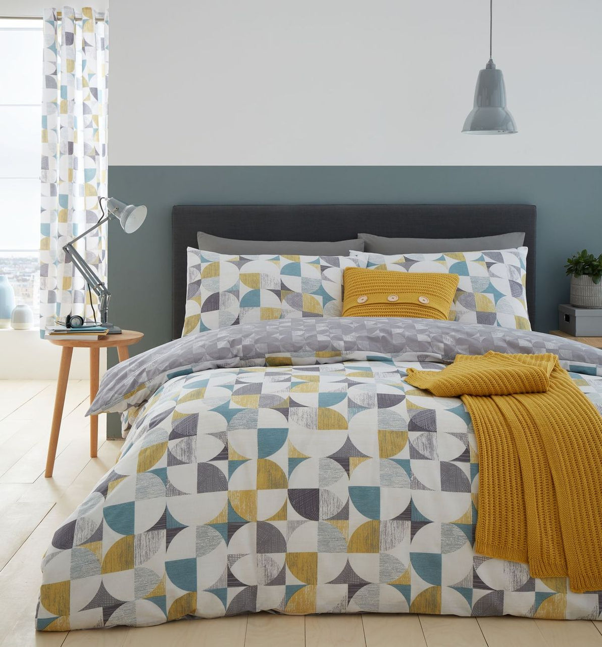 Retro Circles Duvet Set