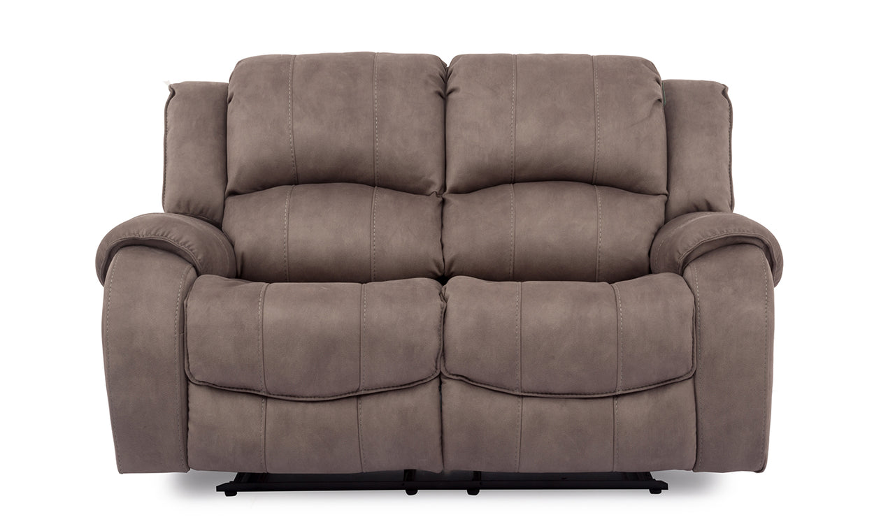Darwin 2 Seater Recliner - Smoke (Nett)