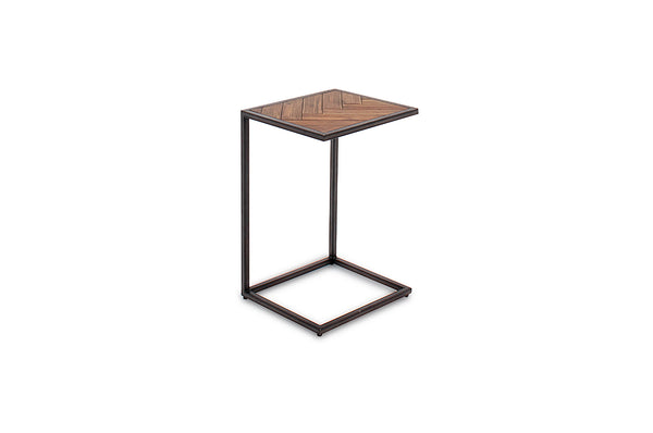 Vanya Drinks Table - Light Brown