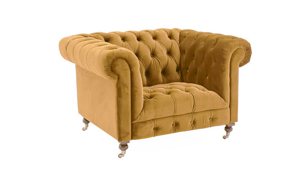 Darby 1 Seater - Mustard