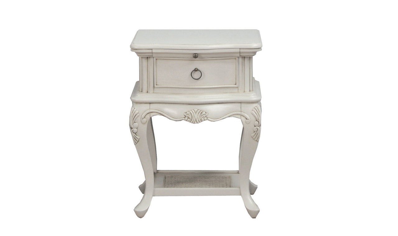 Camille Table, Bedside Table - Grey