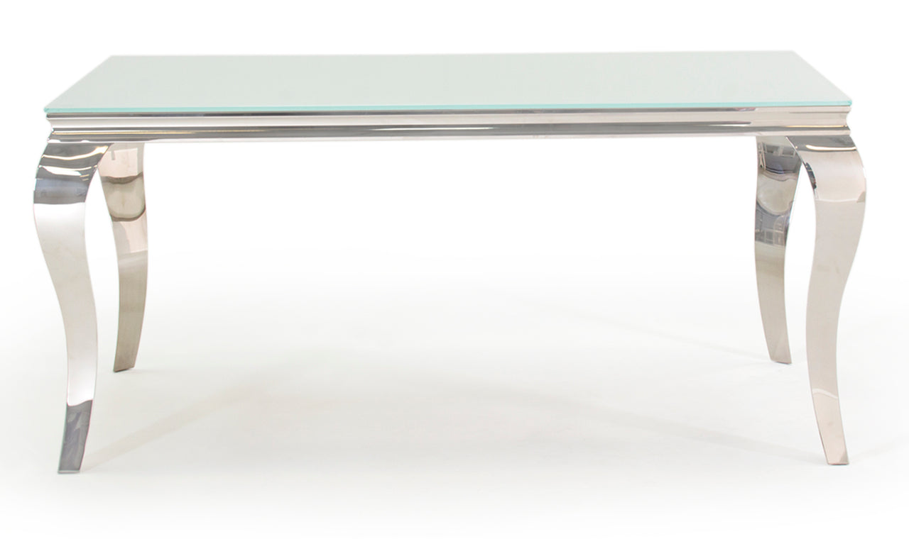 Louis Dining Table - White 1600mm