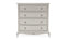 Camille Tall Chest - 4 Drw - Grey