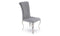 Nicole Dining Chair - Silver (Sold in boxes of 2)