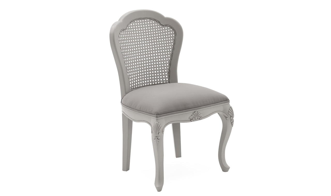 Camille Dressing Chair - Grey