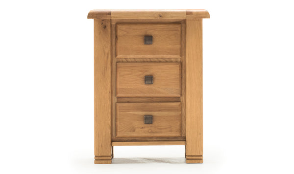 York Table, Bedside Table - 3 Drawer