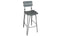 Delta Bar Chair  - Grey Elm (Sold 2 per Box)
