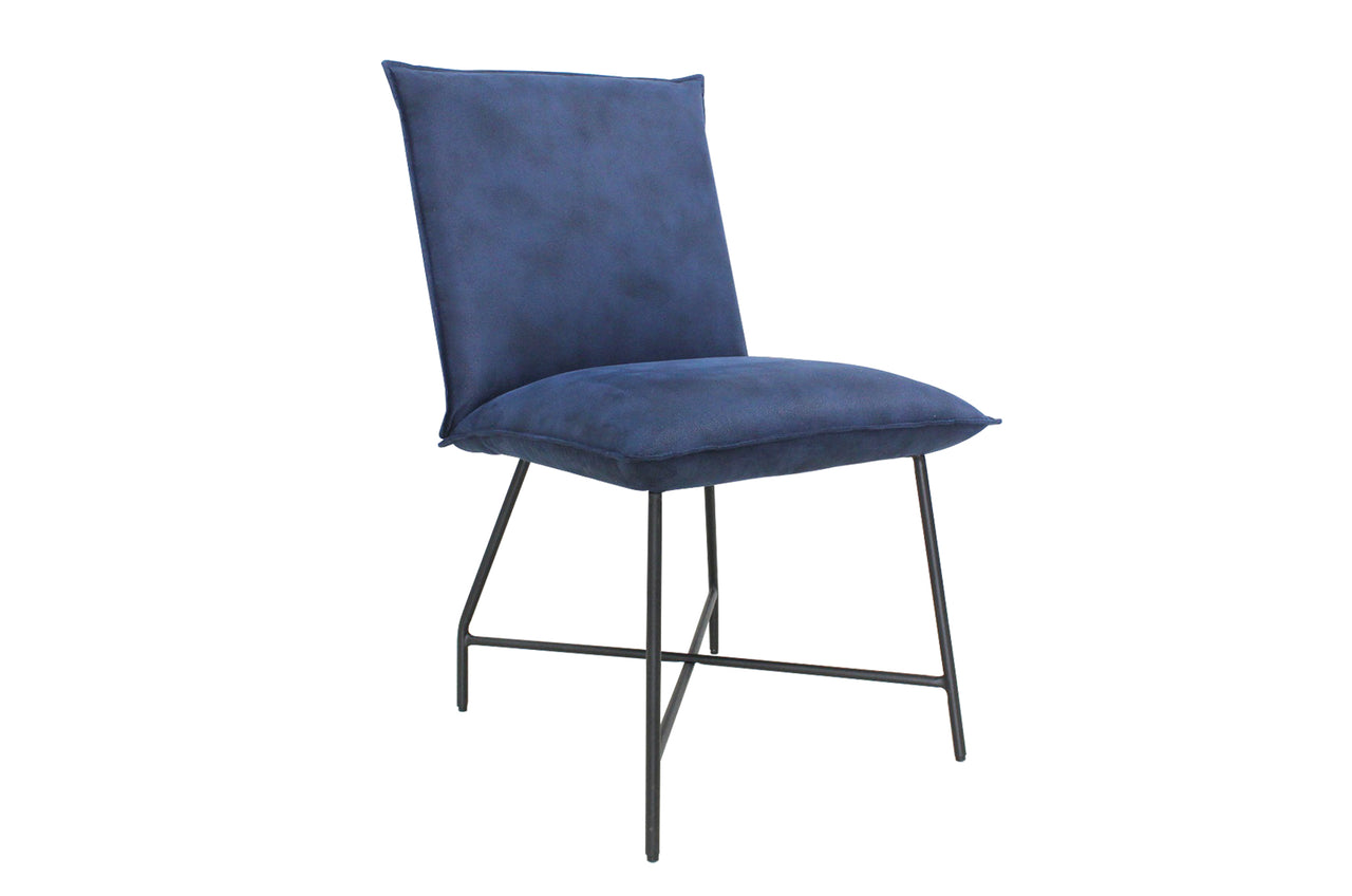 Lukas Dining Chair - Indigo Blue