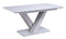 Rafael Dining Table Ext - Light Grey Matt 1600/2000 (Nett)