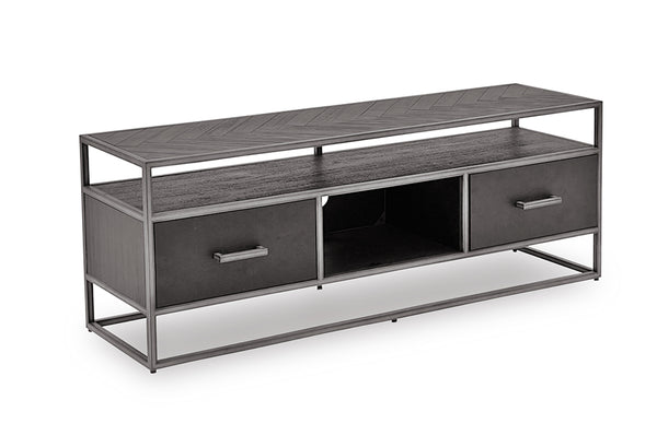 Vanya TV Cabinet - Dark Brown 1500