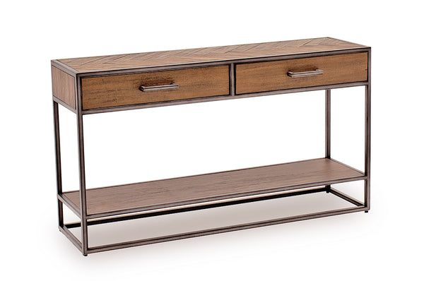 Vanya Console Table - Light Brown