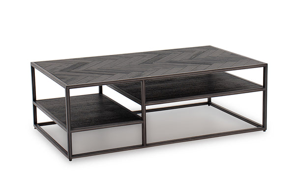 Vanya Coffee Table - Dark Brown