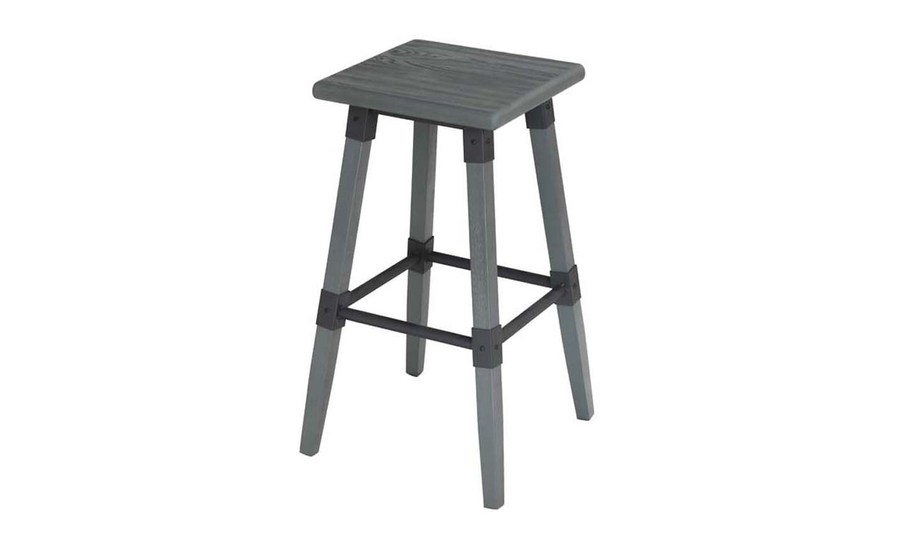 Lock Bar Stool  - Grey Elm  (Sold 2 per Box)