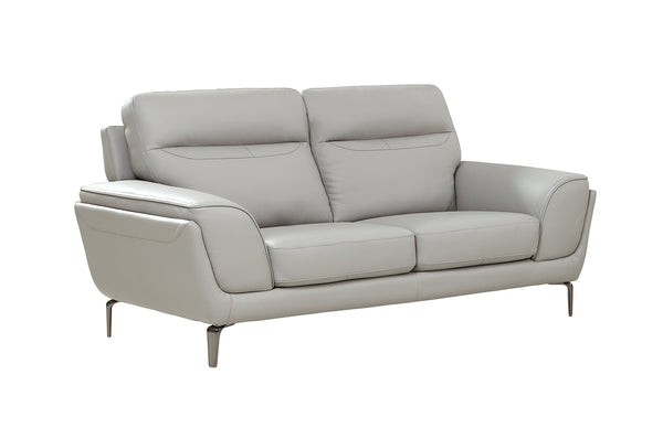 Vitalia 2 Seater Fixed - Light Grey