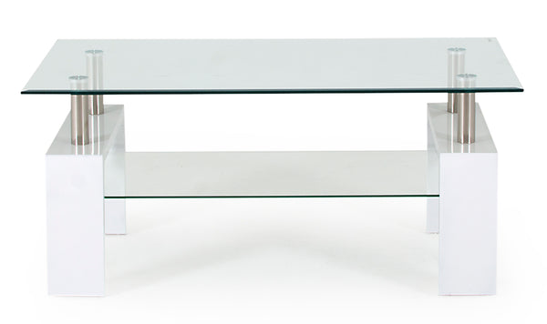Calico Coffee Table - White