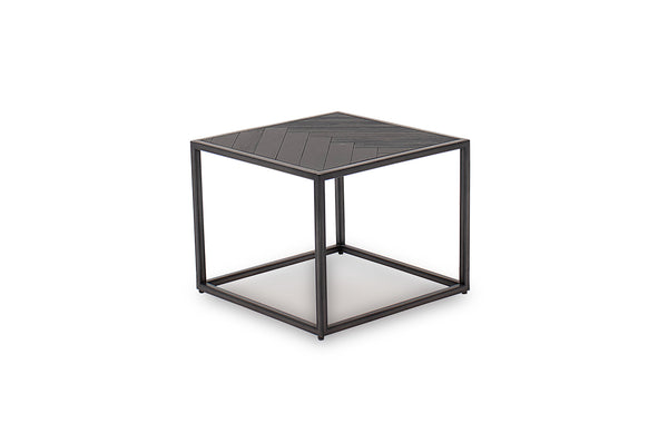 Vanya Lamp Table - Dark Brown
